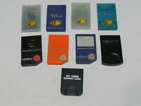 Nintendo Gamecube System Console Memory Card - U Pick Size & Color! Tested