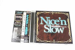 MAGNUM PRESENTS NICE'N SLOW BVC2 37429 CD JAPAN OBI A14354