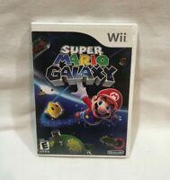 Nintendo Wii Super Mario Galaxy  (2007) Inst. Booklet Included