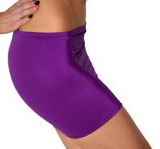 Mini Skirt Purple High Waist Stretch Sexy Bodycon Club Party Womens Bodycon S59