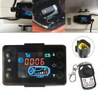 12V/24V Air Diesel Heater Parking LCD Monitor Switch Board + Remote Controller