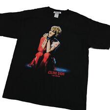 CELINE DION Las Vegas Residency Concert T Shirt LIVE Merchandise Black XL