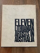 ELEVEN LTHUANIAN ARTISTS IN AUSTRALIA Elwyn Lynn Hardcover Eva Kubbos+many more
