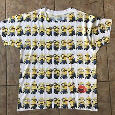 Minions Despicable Me All Over Print T-shirt - Size XS