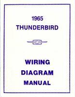 1963 1967 Ford Thunderbird Wiring Diagrams Schematics Manual Sheets Set Ebay