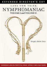 Nymphomaniac: Volume I/Nymphomaniac: Volume II (DVD, 2014, 2-Disc Set)