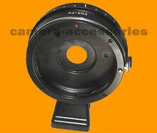 Control de apertura de Canon EOS EF lente para Fuji Fujifilm X-Anillo Adaptador de montaje T1 E2