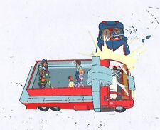 Speed Racer (New Adventures) Mach Go Go Go Production cel 2*