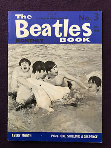 Original THE BEATLES BOOK MONTHLY magazine No.3 October 1963 Very Good Condition