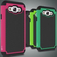 For Samsung Galaxy E5 Case Tough Protective Hard Hybrid Phone Cover Armor