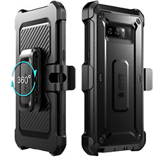 Full Body Case Built in Screen Protector Cover Black for Samsung Galaxy Note 8