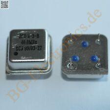 5 x 40.0 MHz Quarzoszillator -10°C ~ +70°C ±50ppm 5V  HCJ Quart  5pcs
