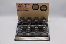City Color Single Eye Shadow Individual 24 Piece Lot - Free Shipping
