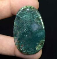 Moss Agate 100% Natural Cabochon 53.65 Cts. Oval Loose Gemstone
