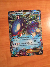 NM Pokemon KYOGRE EX Card PRIMAL CLASH Set 54/160 XY X and Y Ultra Rare 180 HP