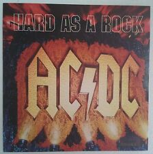 AC/DC Hard As A  Rock CD-Single UK portada poster