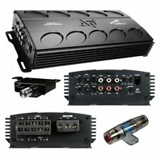 AUDIOPIPE APMN-55105 Mini 5 Channel Car Motorcycle Amplifier 1600W 5CH Micro Amp