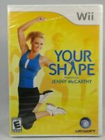 Your Shape: Featuring Jenny McCarthy ( Game Only )(Nintendo Wii, 2009) New !