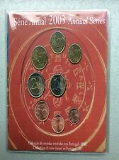 PORTUGAL 10 CENT T/M 2 EURO 2003 UNC IN BLISTER
