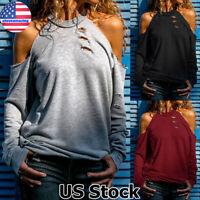 Women High Neck Long Sleeve Tank Top Vest Summer Casual Loose Blouse T Shirt Tee