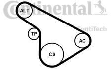 CONTITECH Juego de correas trapeciales poli V para OPEL ASTRA ZAFIRA CORSA