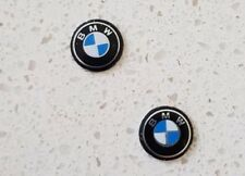2 x 11mm BMW key logo emblem