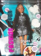 """2005  FASHION FEVER  """" BARBIE and you* STYLES FOR 2. Gift set"""