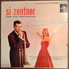 Si Zentner Orchestra A Thinking Mans Band LP Records Vinyl Album LST 7133