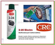 Lubrificante Spray CRC 2-26 ELECTRO 250ml Riattiva Pulisce Circuiti Contatti
