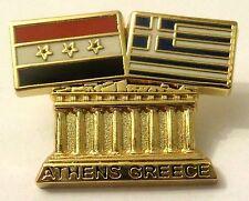 Pin Spilla Olimpiadi Athens 2004 Greece/Iraq Flags