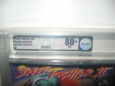 STREET FIGHTER II 2 US VGA 80+ NEAR MINT NEW UNUSED SNES SUPER NINTENDO