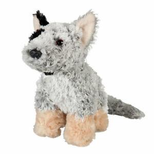 Blue Heeler Cattle Dog soft plush toy small LITTLE BLUEY by Minkplush NEW