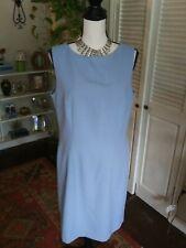 Baby Blue Karen Scott career casual Sleeveless dress 12
