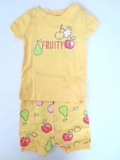 Baby GAP Girls Yellow Fruity Pajamas - Size 6-12 Months - NWT