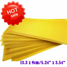 30x Honeycomb Foundation Beehive Wax Frames Waxing Beekeeping Equipment Bee
