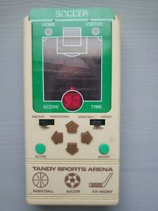 Tandy Sports Arena handheld electronic game 1981 works