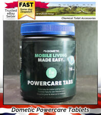Dometic Powercare Chemical Toilet Tablets For Caravan Waste Holding Tanks 16Tabs