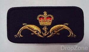 British Naval Royal Navy Submariner's Badge / Cloth Patch