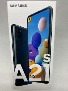 "SAMSUNG GALAXY A21s SM-A217F/DS DualSim(FACTORY UNLOCKED)6.5"" 32GB NEW BLACK USA"