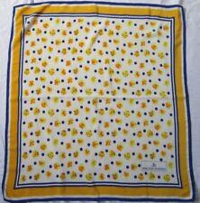 Joli authentique foulard Jean Louis Scherrer soie 84cm x 82cm vintage scarf *