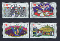 ALEMANIA/RFA WEST GERMANY 1989 MNH SC.B678/B681 Circus