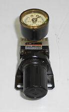 SMC AR2500-03G Air Regulator w/ Gage Unit, Used, Warranty
