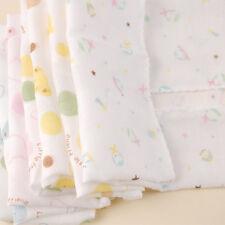 4x Baby New Born Gauze Muslin Square Cotton Bath Wash cloths bibs Towel 28*28