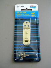 "National Minature Hasp With Hook N211912 V1828 Polished Brass 3/4"" X 2 3/4"""