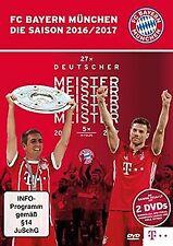 FC Bayern München - Die Saison 2016/2017 [2 DVDs] | DVD | Zustand sehr gut