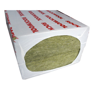 ROCKWOOL RW3 100MM ACOUSTIC SOUND INSULATION - 5 PACKS