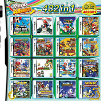 482 in 1 Nintendo 3DS DS Multi Cart With Fast Free Shipping