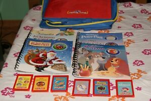 Story Reader Interactive Learning System  Books , Cartridges & Carrying Case