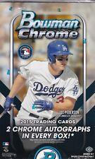 2015 Bowman Chrome Baseball Hobby Box Factory Sealed