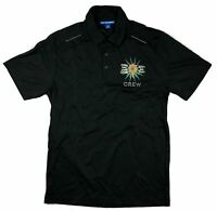 Hall & Oates Tears For Fears Crew Black Polo Shirt New Official Tour Merch